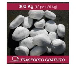 Ciottoli Bianco Carrara