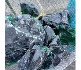 Pietra di vetro verde