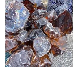 Pietra di vetro ambra