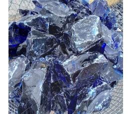 Pietra di vetro blu